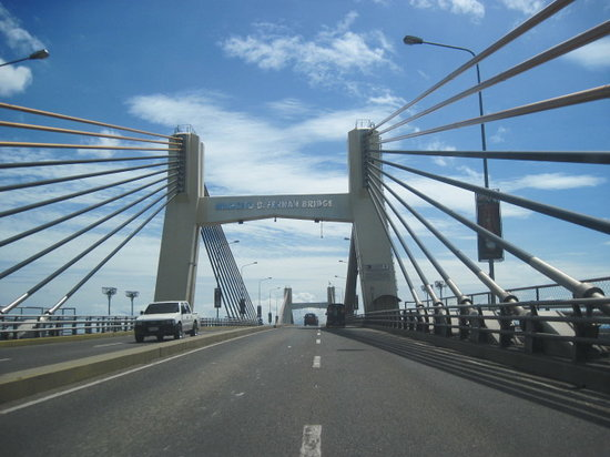 Cebu City, Filipinas: Marcelo Fernan bridge