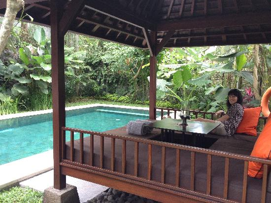 The Samaya Bali Ubud: Your own pool and daybed in garden setting