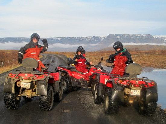 Eskimos - Day Tours: The Three ATVigos!