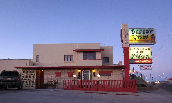 Desert View Inn at dusk