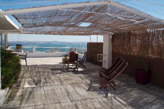 The House: The roof deck