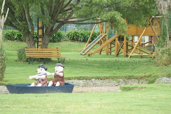 PuertoLago Country Inn: The playground