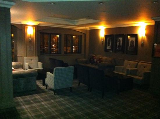 Village Hotel Coventry: a great seating area to catch up