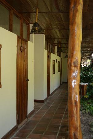 La Casa Del Suizo: The hallway
