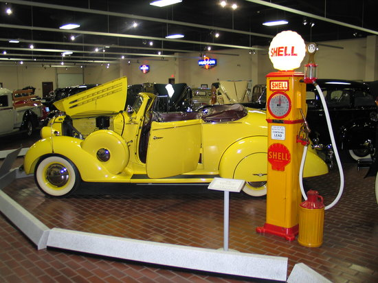 Shipshewana, IN: 1936 Hudson rumble seat coupe,