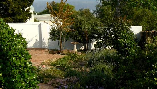 False Bay View: Garden Area and Parking behind secure wall and motorised gate