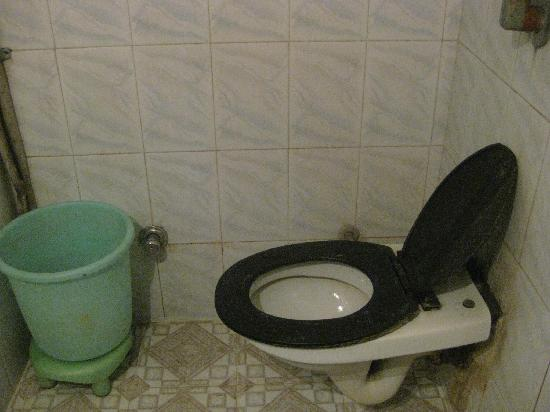 Lucky Guest House: toilet that you wouldnt sit on...