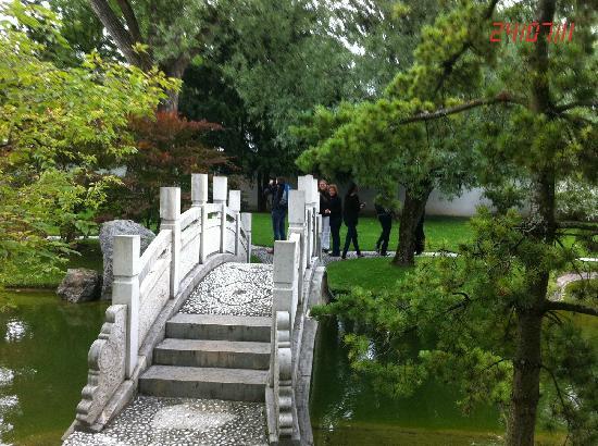 Little bridge - Picture of Chinese Garden Zurich, Zurich - TripAdvisor