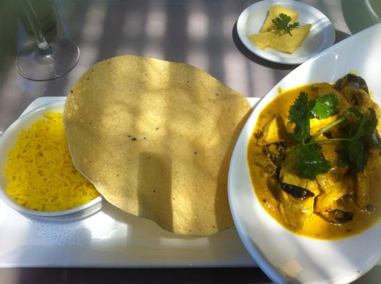 Kitchen Cafe: excellent cape malay curry R89