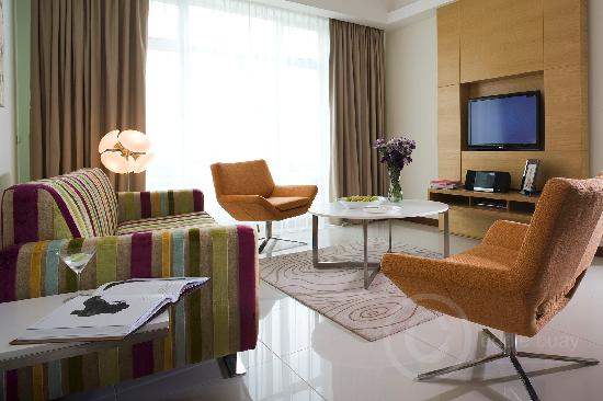 Fraser Place Kuala Lumpur: Living room