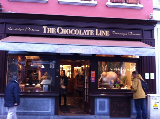‪The Chocolate Line Bruges‬