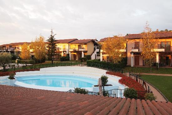 Hotel Residence Santa Giulia: la vue de la chambre
