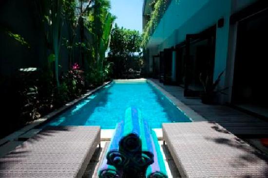 Lima Puri Villas Bali: 10x3.5m Pool