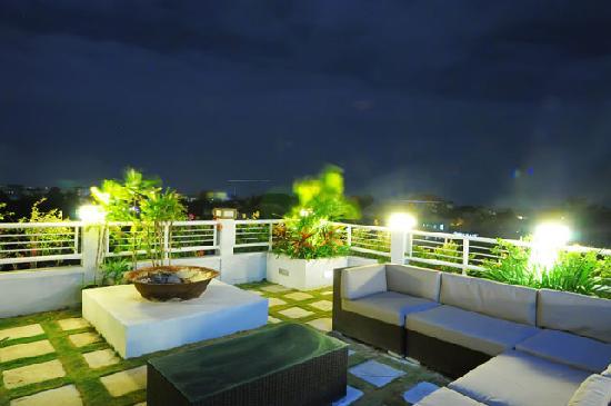 Lima Puri Villas Bali: Roof Terrace