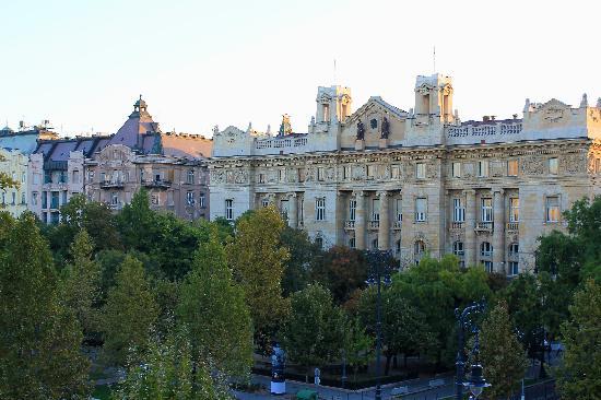 IBEROSTAR Grand Hotel Budapest: Vista desde la habitación