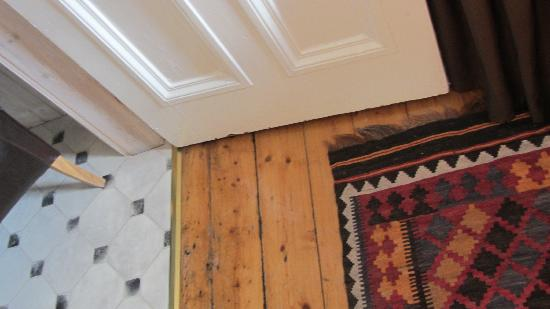 Southside Guest House: pavimentazione curata