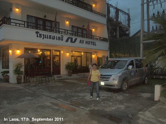 AV Hotel: It is like a business hotel just outskirt of the Capital