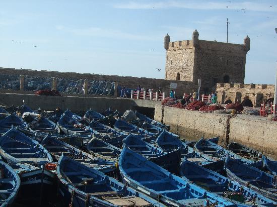 Essaouira Ramparts: le port