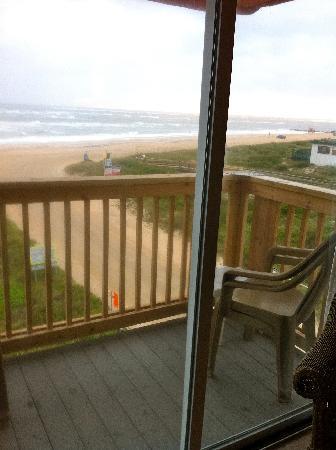 The Saint Augustine Beach House: Our balcony