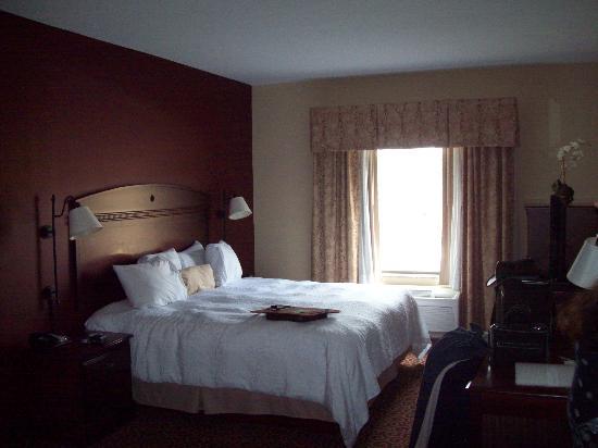 Hampton Inn Auburn: Spacious room