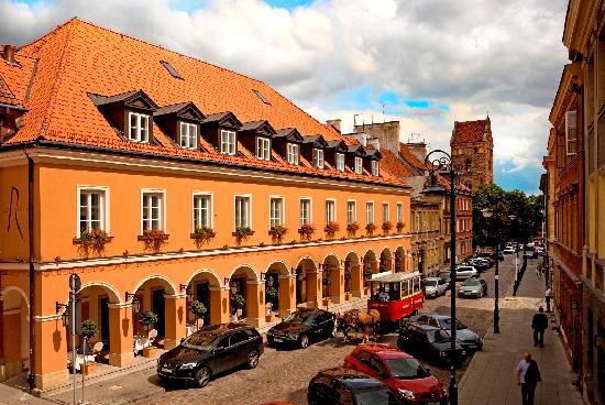 Mamaison Hotel Le Regina Warsaw: Mamaison Hotel Le Regina facade