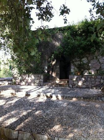 Finca Buenvino: The pool house