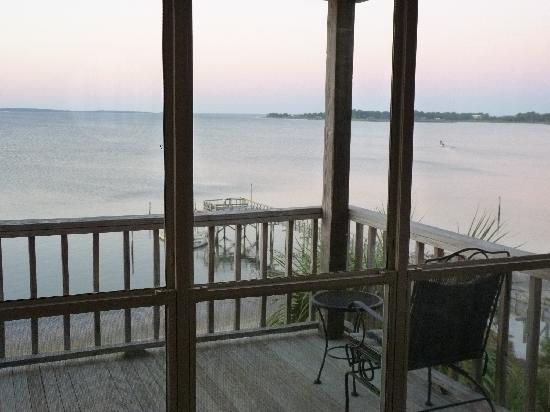 Seahorse Landing: From the living room looking out