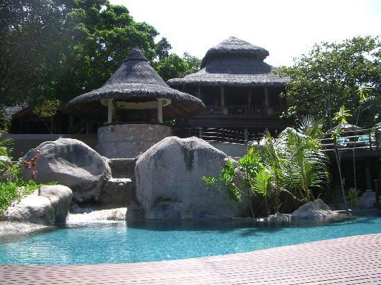 Anse Kerlan, Seychelles: piscine