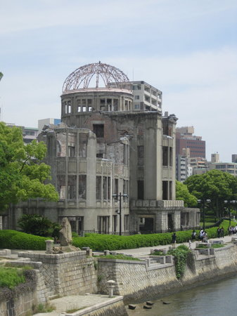 Hiroşima, Japonya: The A-Bomb Dome in September