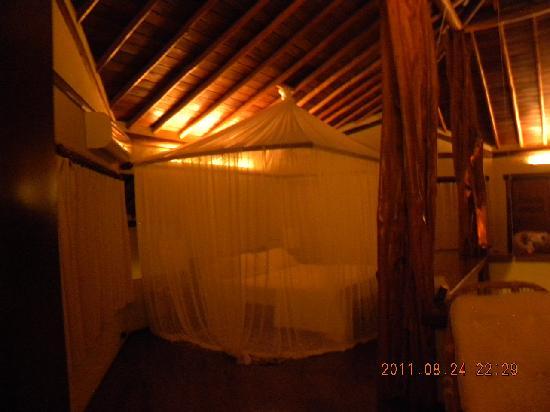 Villas de Trancoso Hotel: quarto pronto para dormir