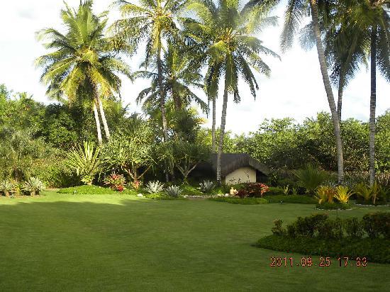 Villas de Trancoso Hotel: jardim maravilhoso e bem cuidado