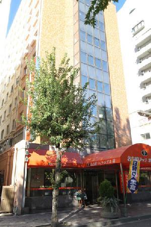 Nagoya Rich Hotel Nishiki: 建物外観