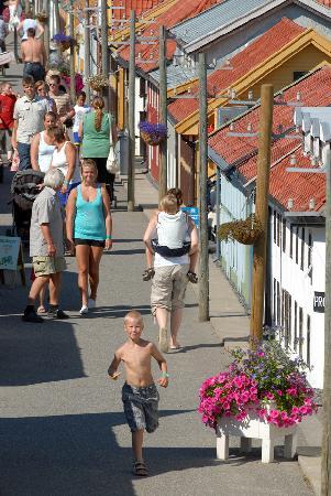 Oyer Municipality, Norge: Main street of Lilleputthammer