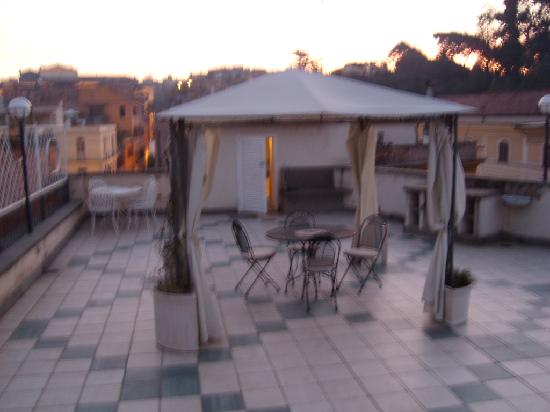 Hotel Fellini: terraza