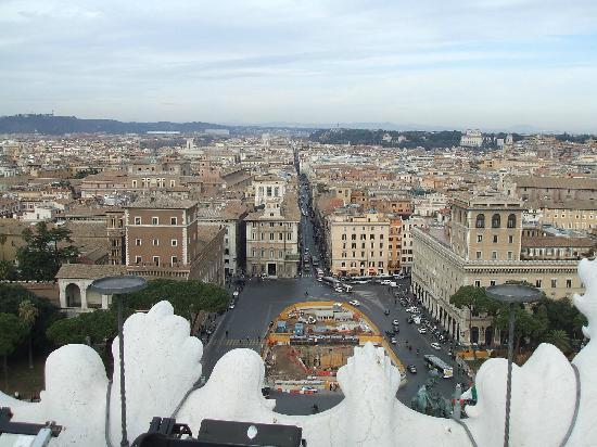 Roma vista dalla Terrazza delle Quadrighe - Picture of Roma dal ...
