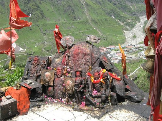 Kedarnath, Indien: Bhairavnath ji - considered the protector of the temple
