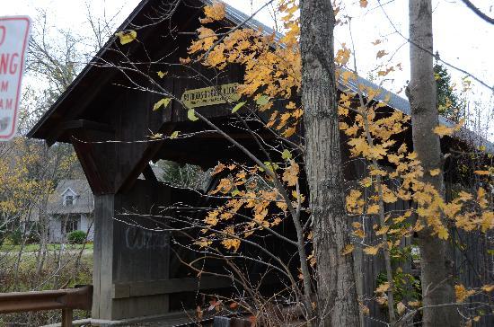 Gold Brook Covered Bridge (Emily's Covered Bridge) : Emily's Bridge