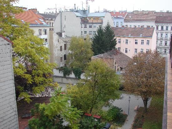 Hotel Reither: Vista da varanda do meu quarto