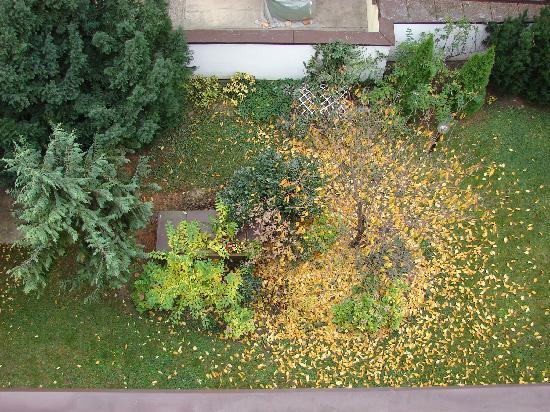 Hotel Reither: Vista do jardim interno do hotel, muito bem cuidado