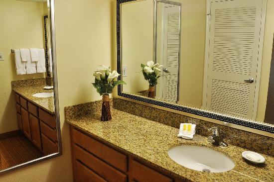 Residence Inn Binghamton: Studio Bathroom