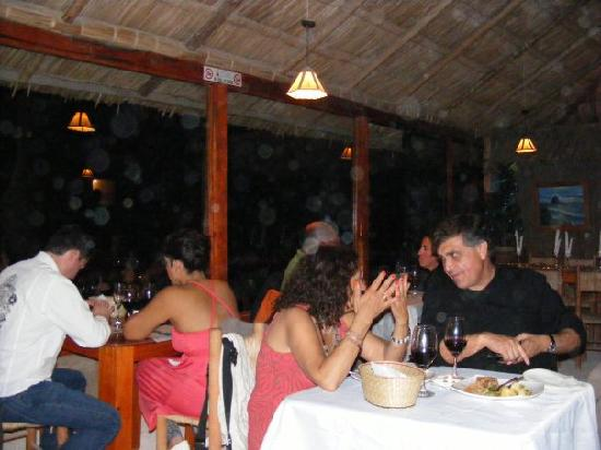 Playa la virgen : restaurant