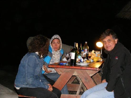Playa la virgen : camping