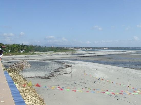San Carlos, Panamá: Vista del Restaurante a la playa