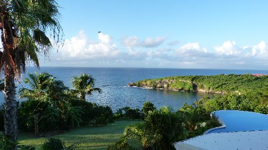 Hotel Amaudo: la vue sur l'anse à la barque