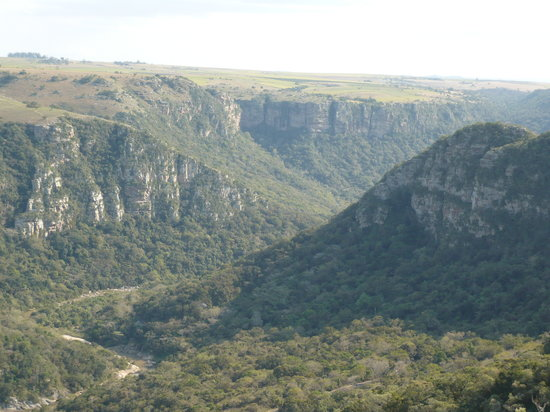 KwaZulu-Natal, South Africa: Blick in den Canyon
