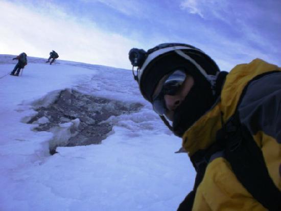 Merida, เวเนซุเอลา: subiendo el glaciar