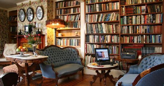 Martine Inn: The Library