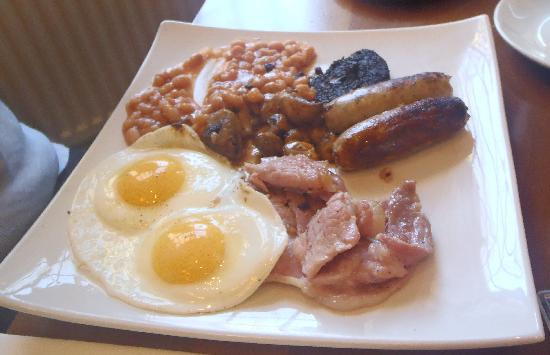The Cross Scythes Totley: full english