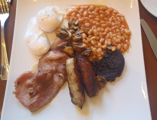 The Cross Scythes Totley: full english with poached eggs