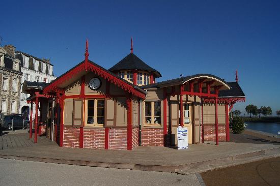 Gite et Chambres d'Hotes - Le Valmet : L'ancienne gare de St Valery sur Somme